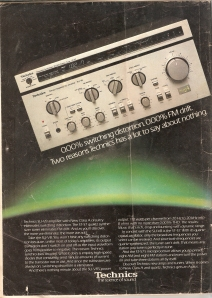 Technics SUV8 amplifier